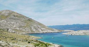 Die Inselgruppe der Kvarner Bucht an der kroatischen Adria.