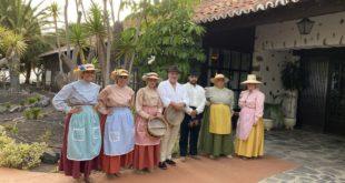 Spanische Folkloregruppe von La Gomera