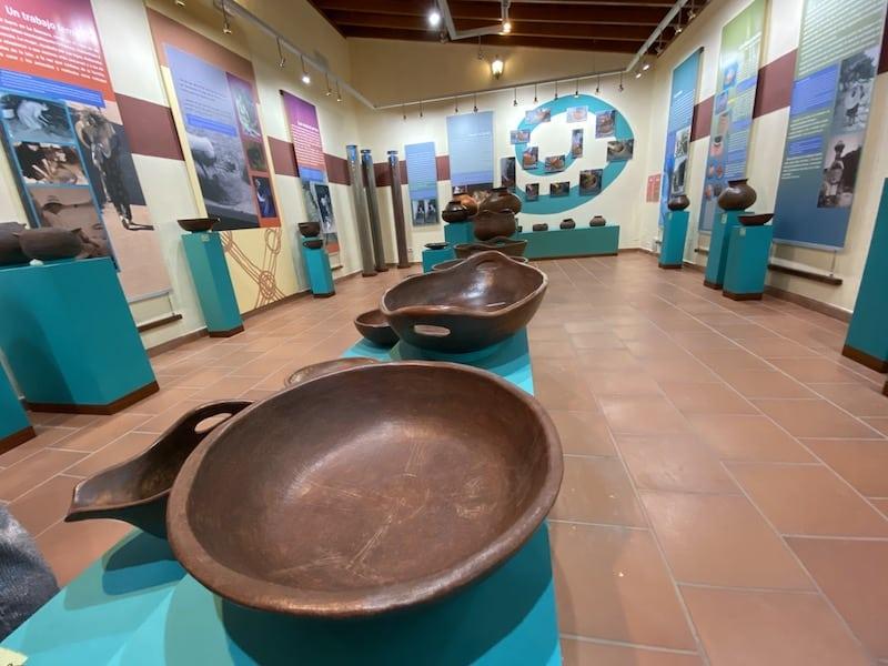 Das Museum in El Cerado auf La Gomera. Wie entsteht ein Tongefäß - Von Anfang bis Ende