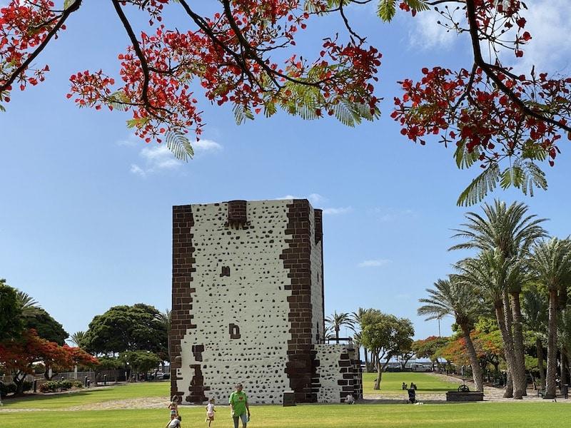 Torre del Conde in St.Sebastian de la Gomera