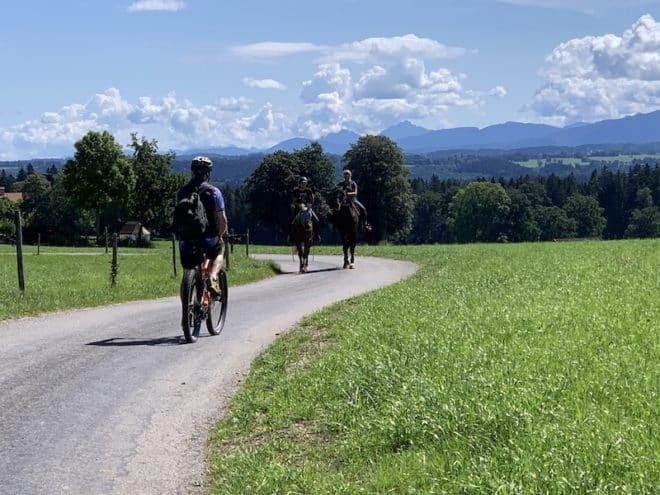 Radreisen am Chiemsee und rund um den Starnberger See nahe den Alpen