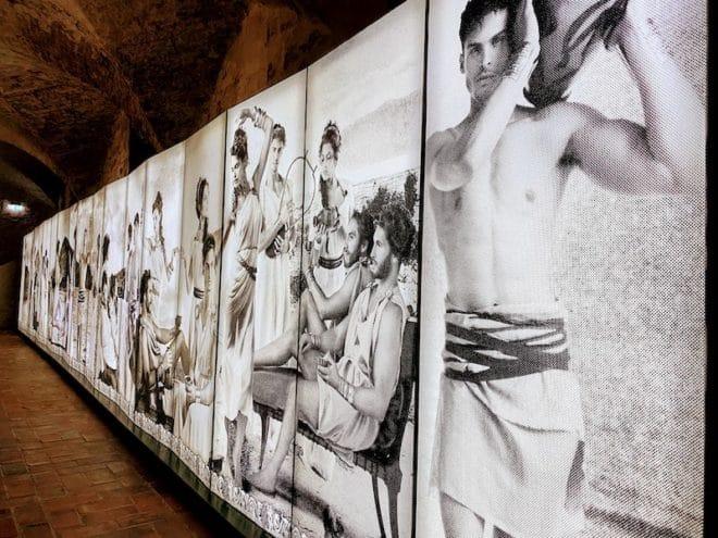 Das Kunstmuseum Moritzburg in Sachsen-Anhalt ist ein Ausstellungsort für viele Kunstobjekte