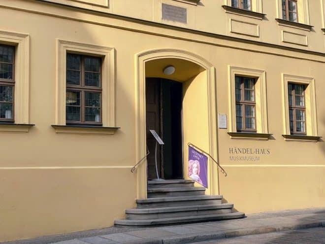 Das Händel Haus in Halle (Sachsen-Anhalt)