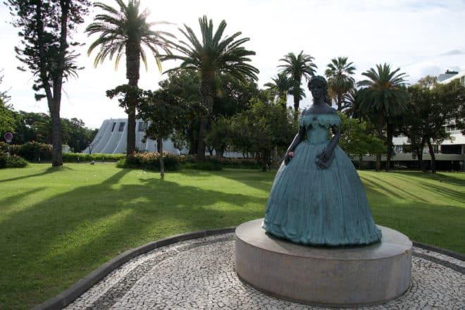 Auch Kaiserin Sissi genoss das milde Klima auf Madeira