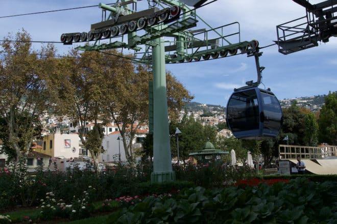Seilbahn nach Monte auf der Insel Madeira